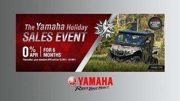 Yamaha - Holiday Sales Event -  Utility SxS